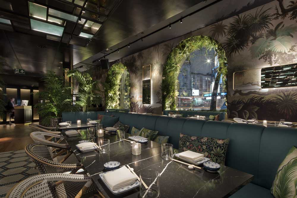 Restaurante Zela. Londres. BMLD.