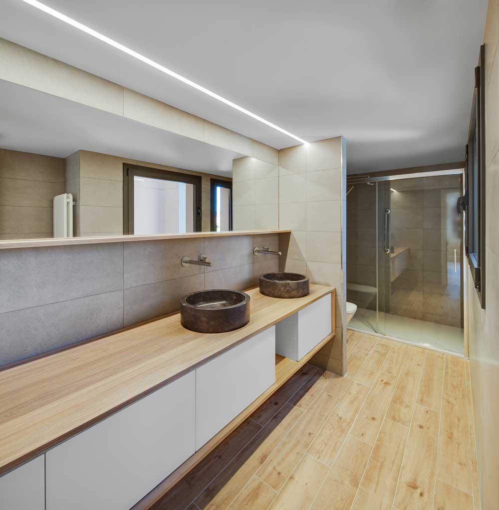 iluminación lineal viviendas Lluria