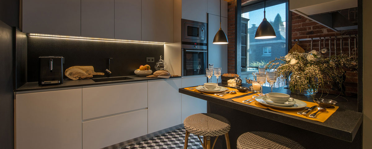 5 tips on how to light your kitchen, the multifunctional living space