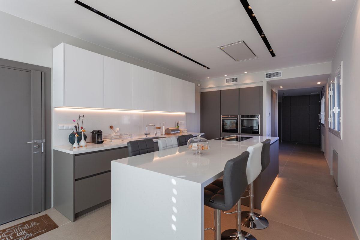 iluminacion cocinas lineal led