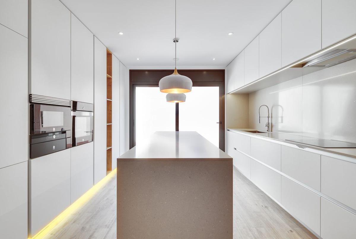 iluminacion cocinas lineales led