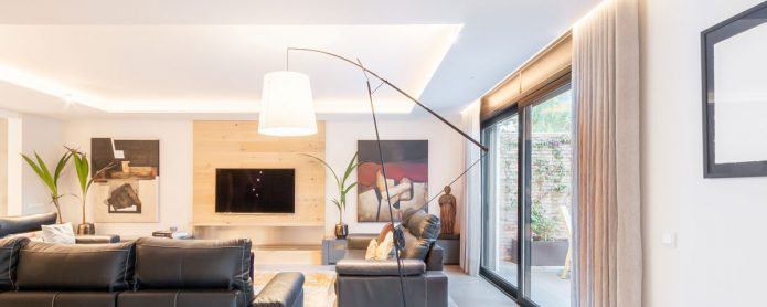 Layers of light to consider when lighting a home's living room