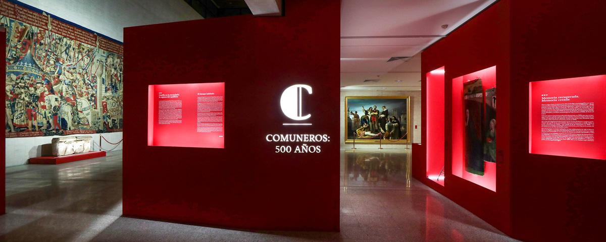 """LLURIA illuminates the """"Comuneros: 500 years"""" exhibition"""