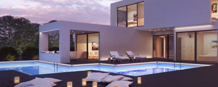 Quality and versatility in pool lighting with LED linear lights